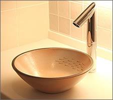 洗面ボウルの設置例57