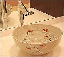洗面ボウルの設置例59