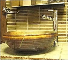 洗面ボウルの設置例71