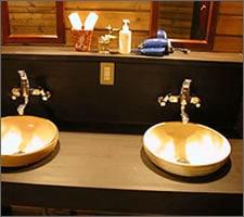 洗面ボウルの設置例11