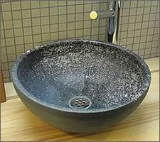 洗面ボウルの設置例73
