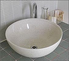 洗面ボウルの設置例75
