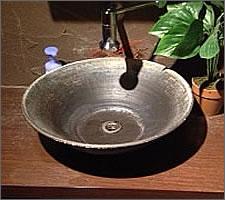 洗面ボウルの設置例77