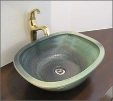 洗面ボウルの設置例78