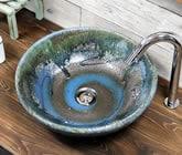 手洗い鉢 陶器洗面 信楽焼 洗面ボウル 手洗器 洗面ボール 手洗鉢