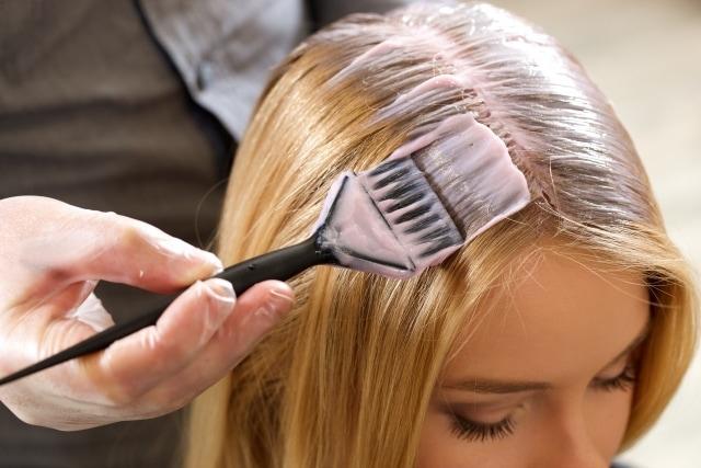 髪の毛が染まる仕組み