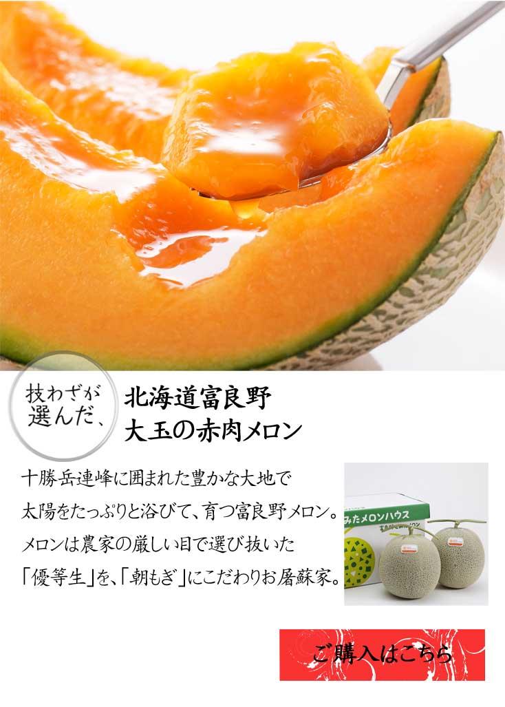 北海道・赤肉メロン