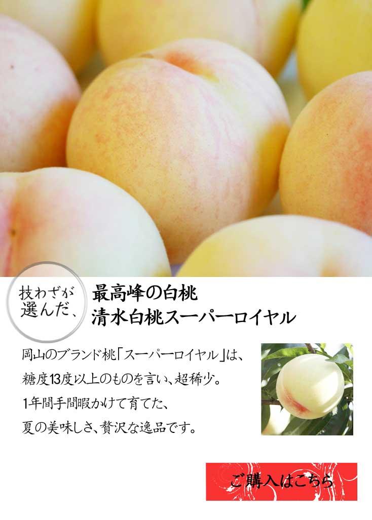 清水白桃スーパーロイヤル