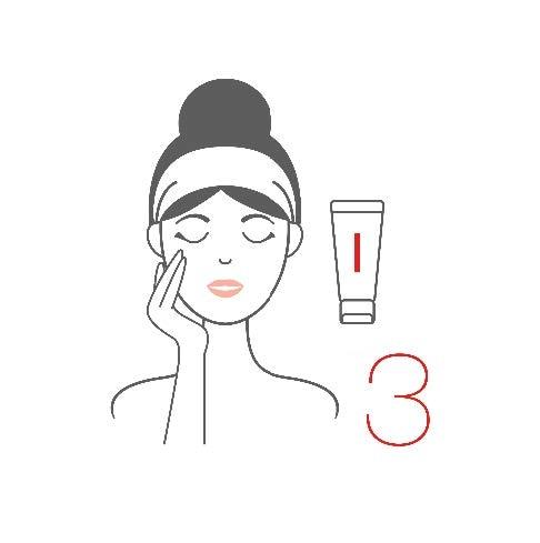 3.洗い流す