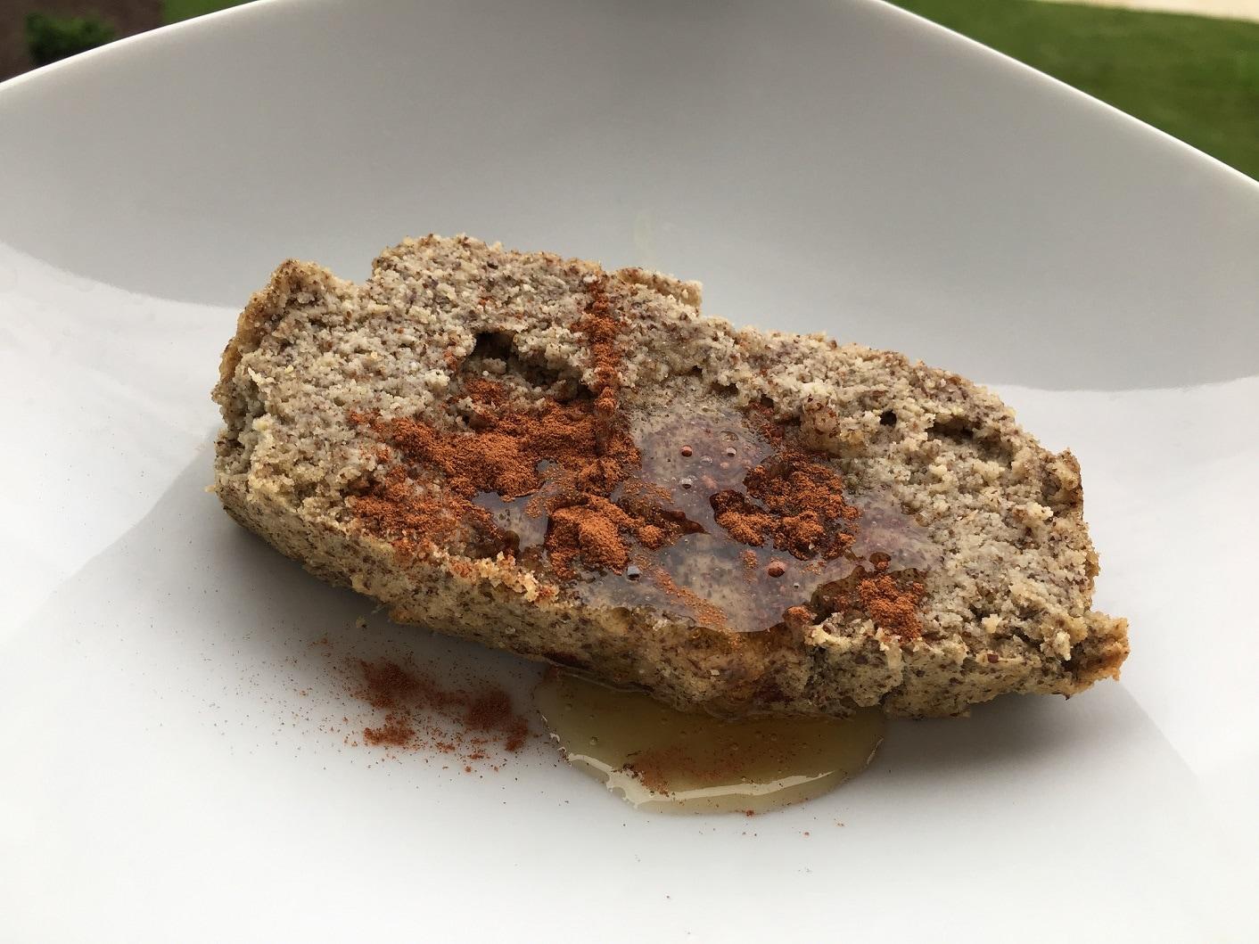 almond & flaxseed flour cake yum