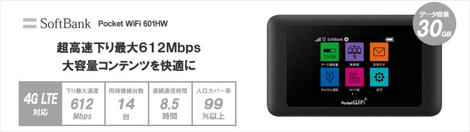 SoftBank Pocket WiFi 601HW