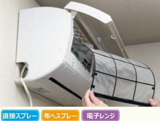 エアコン掃除のイメージ