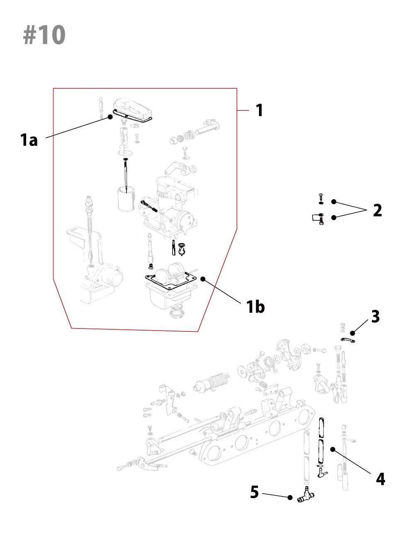 Kawasaki Z1/Z2キャブレター