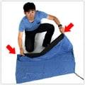 輪行袋の畳み方