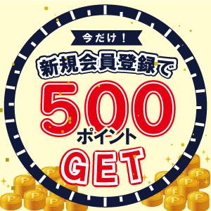 500ポイント