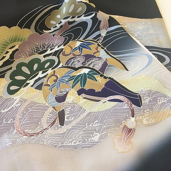 お宮参り初着物/男児/着物 生地