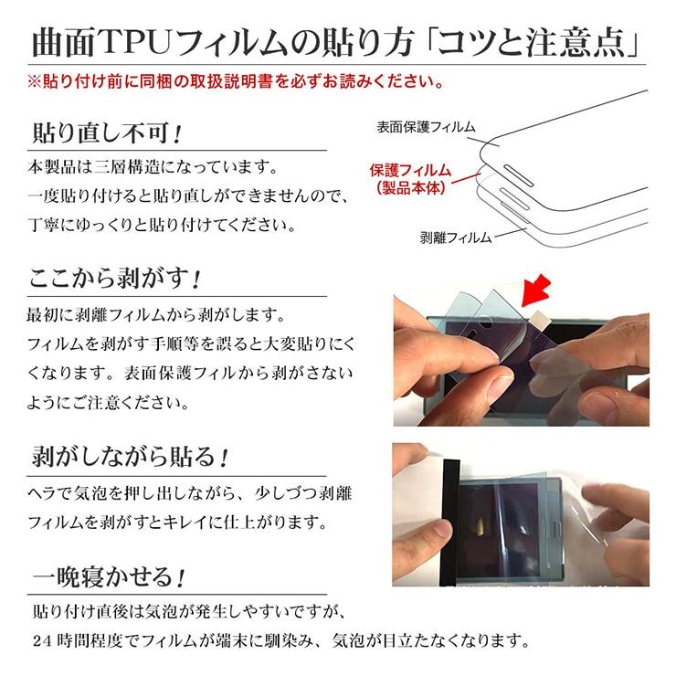 曲面TPUフィルムの貼り方コツと注意点