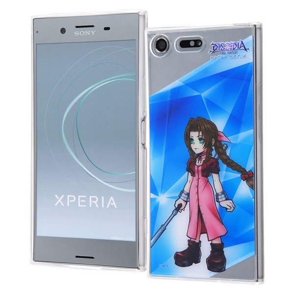 Xperia XZ Premium DISSIDIA FINAL FANTASY OPERA OMNIA/TPUケース+背面パネル エアリス IJ-RSEXZPTP/DFO10