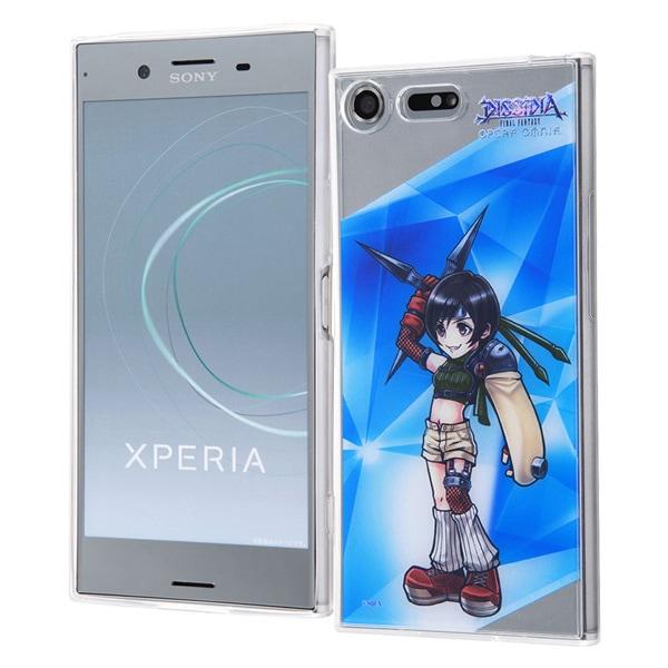 Xperia XZ Premium DISSIDIA FINAL FANTASY OPERA OMNIA/TPUケース+背面パネル ユフィ IJ-RSEXZPTP/DFO12