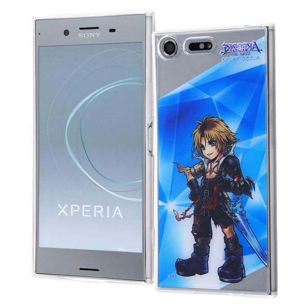 Xperia XZ Premium DISSIDIA FINAL FANTASY OPERA OMNIA/TPUケース+背面パネル ティーダ IJ-RSEXZPTP/DFO13