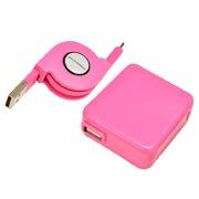 AC充電器 Type-C ⇔ USBリールケーブル