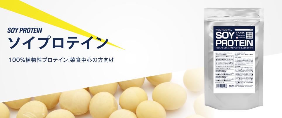 【4】ソイプロテイン(大豆)