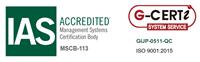 ISO9001:2015を取得しました。