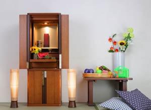 和モダンなミニ盆提灯でおしゃれにサムネイル(仏壇と盆提灯)