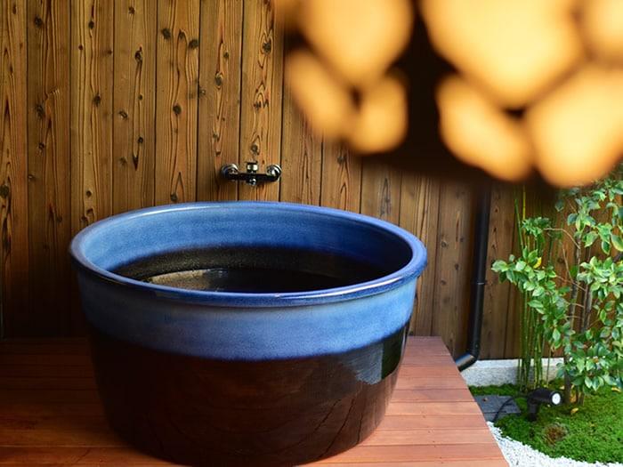 陶器浴槽 しがらきやき風呂