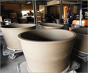 陶器 風呂桶 風呂やきもの