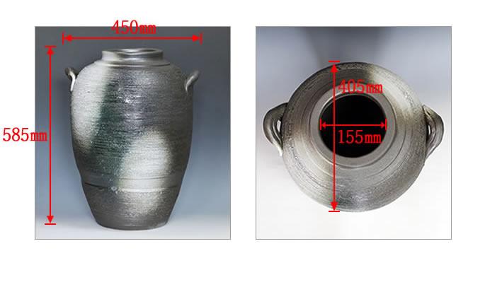 大壷 信楽焼 つぼ 大ツボ 陶器 つぼ 花瓶