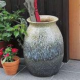 白窯変壷型