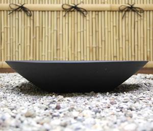 金魚鉢、メダカ鉢に最適な信楽焼きスイレン鉢 陶器の水鉢