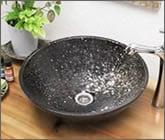 信楽焼 手洗い鉢  洗面ボウル 手洗器 洗面ボール 手洗鉢 陶器 洗面鉢 鉢 手洗い器 洗面器 洗面台 ボール トイレ