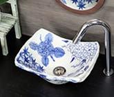 四季絵手洗い鉢