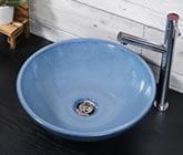 信楽焼 手洗器 陶器 手水鉢 洗面ボウル 洗面 鉢