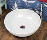 手洗い鉢 洗面ボール 洗面ボウル 手水鉢 洗面 陶器 信楽焼