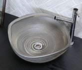 手洗い鉢 陶器洗面 信楽焼 洗面ボウル 手洗器 洗面ボール 手洗鉢 陶器 洗面鉢 鉢 手洗い器