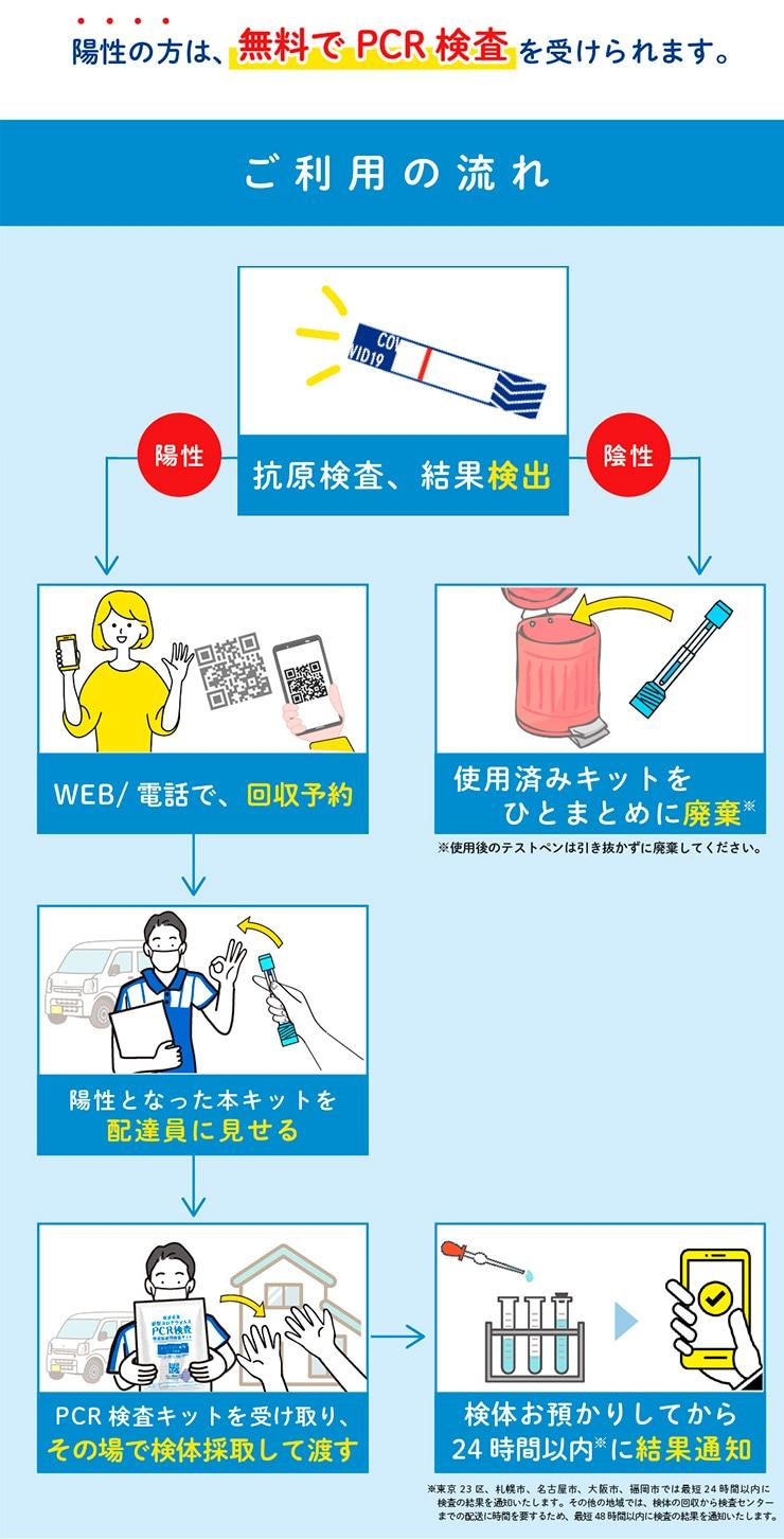 新型コロナウイルス抗原検査 ペン型デバイス