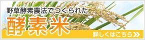 野草酵素農法でつくられた酵素米