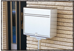 CSPG1 ダイケン ポステック ポールスタンド 郵便ポスト 戸建て用 おしゃれ 郵便ボックス メールボックス