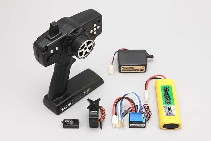 GTシリーズ用 2.4G-RS�ランニングセット ハイスピードサーボ仕様