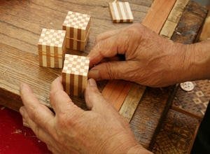 寄木細工の作り方 その4