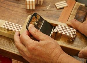 寄木細工の作り方 その5