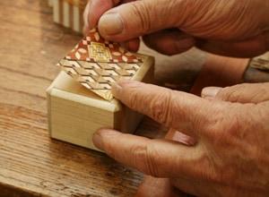 寄木細工の作り方 その6