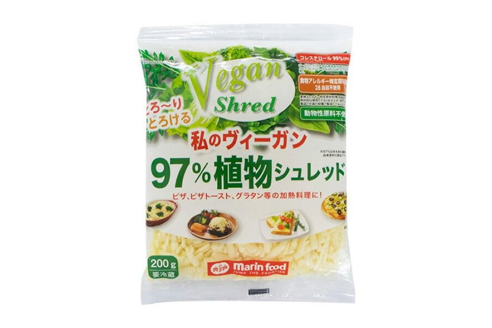 【大人気】ヴィーガンシュレッドチーズのご紹介!!