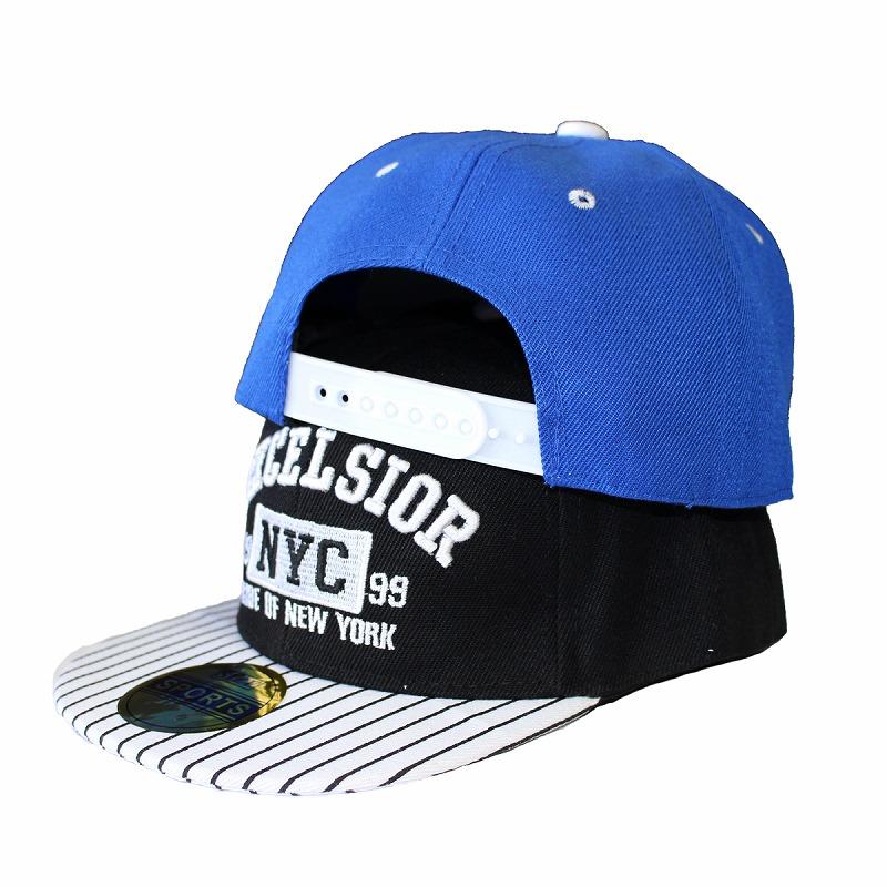 キッズダンス衣装のNYCロゴのキャップ、イメージ