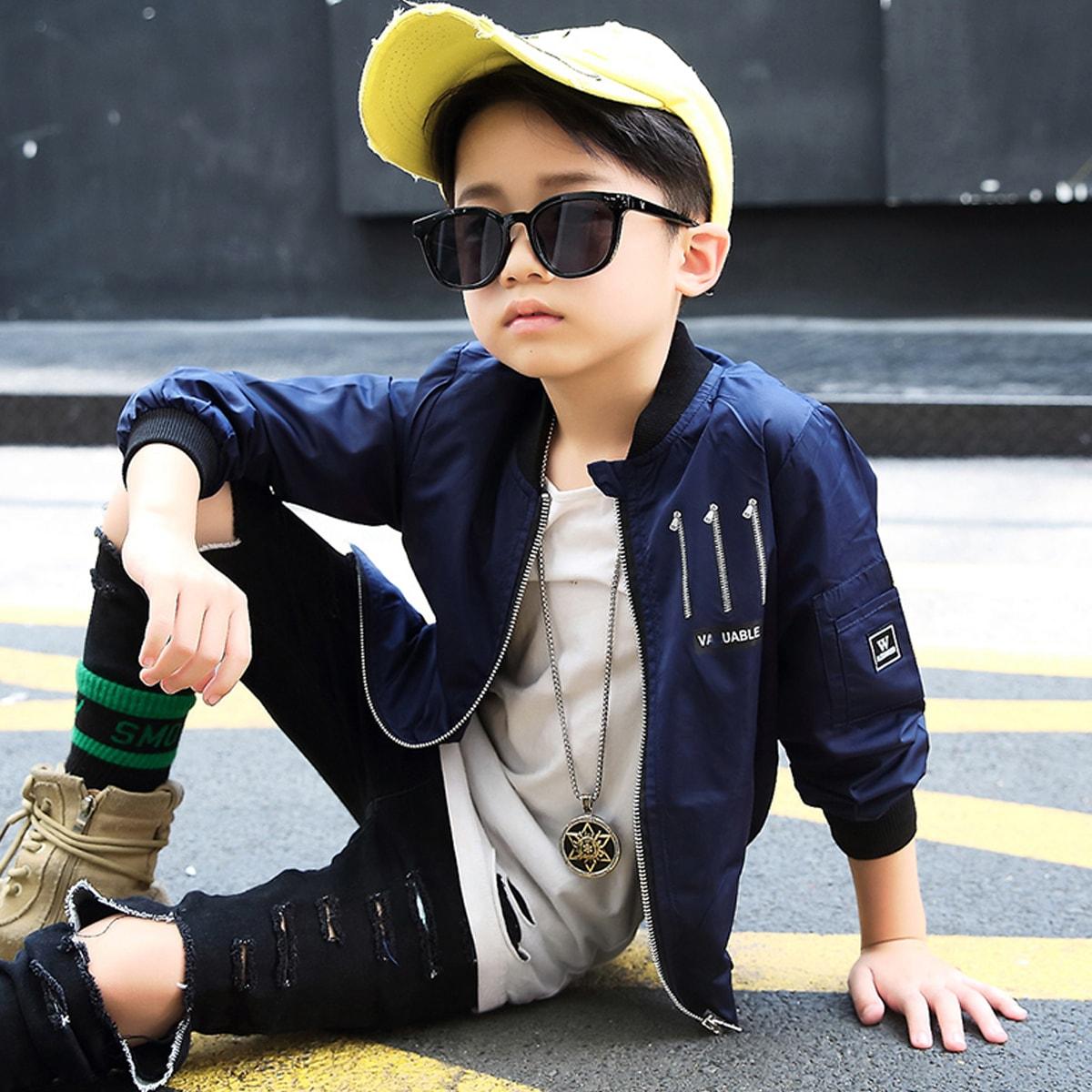 ネイビー/紺 男の子着用 イメージ