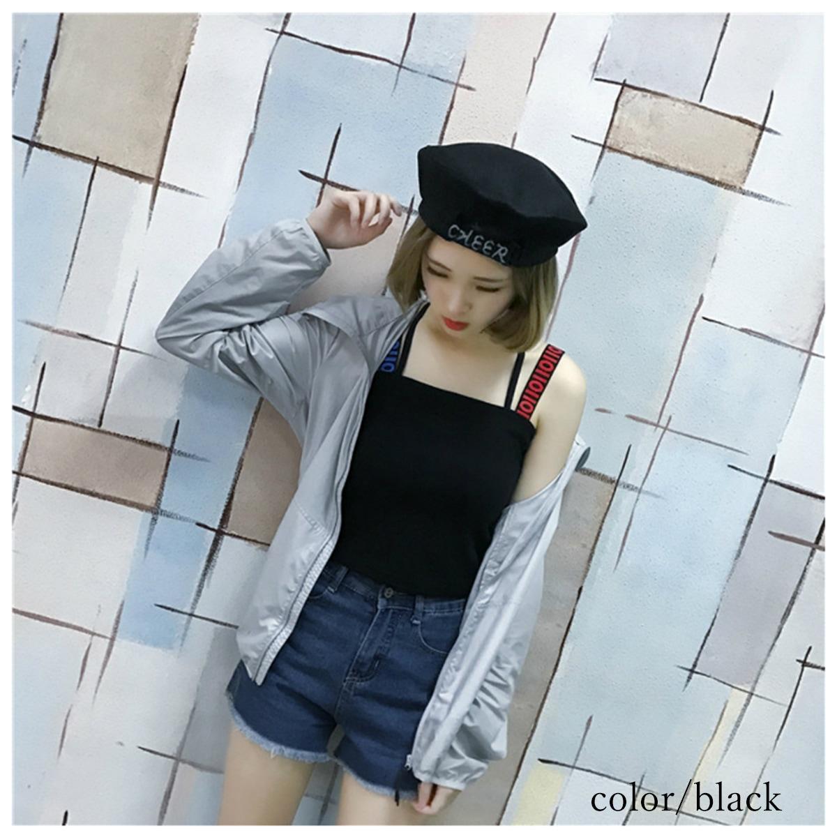 【ブラック】女の子着用イメージ