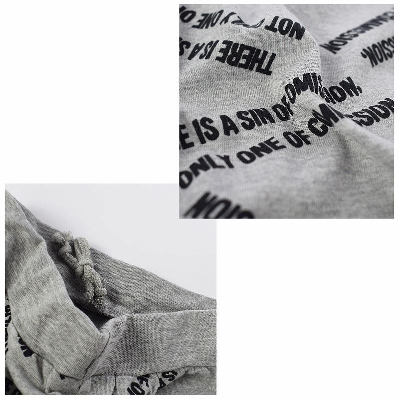 キッズダンス衣装のSHISKYのロゴのハーフパンツ、アップ2